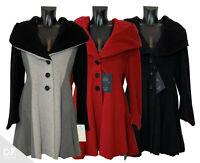 ERICH FEND⁂ Damen Mantel Jacke Glockenform Wolle&Kaschmir mix Lagenlook ⁂AUSTRIA