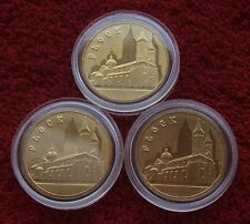 POLAND SET OF COINS 2 ZL POLISH CITIES PLOCK 2007 YEAR LOT ONE PIECE 1PC UNC