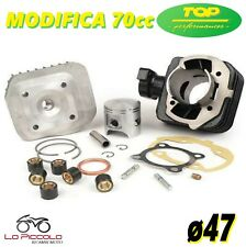 9925800 GRUPPO TERMICO TOP D47 PEUGEOT SPEEDFIGHT 3 LUDIX 50 MODIFICA 70CC ARIA