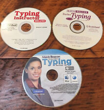 Mixed Lot 3 Mavis Beacon Teaches Typing Instructor Software Discs CDs