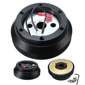 Car 6 Hole Steering Wheel Short Hub Adapter For 200SX 240SX 300ZX Altima Maxima
