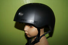 Pro-tec Street Lite negro satén talla xs 52-54 bike BMX SKATE bicicleta Helmet