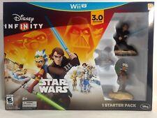 Nintendo Wii Disney Infinity Star Wars 3.0 Edition Action Game Starter Pack g535