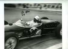 Stirling Moss Lotus 18 Winner Monaco Grand Prix 1961 Signed Photograph 2
