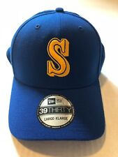Seattle Mariners New Era 39Thirty Hat Cap L/XL New with stickers