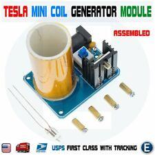 Mini Tesla Coil Kit 9 12v Bd243c Assembled Wireless Transmission Generator Usa