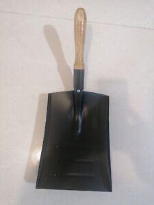 GARDEN HAND SHOVEL METAL HAND DUST PAN COAL LEAVES INDOOR OUTDOOR