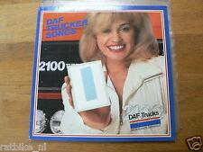 LP DAF 2100 DAF TRUCKER SONGS 1982  DUTCH,VINYL RECORD VAN BUS PICKUP