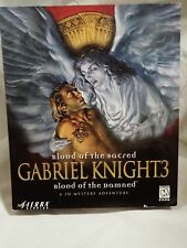Gabriel Knight 3: Blood of the Sacred, Blood of the Damned (PC) Complete big box