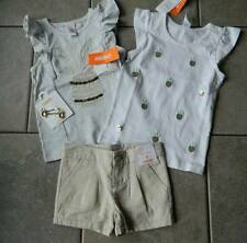 Size 4T,4 years outfit Gymboree,Pineapple Sparkle,4 pc. set,shorts,tops,clips,NW