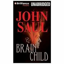 BRAINCHILD unabridged audio book on CD by JOHN SAUL (10 CDs / 11 Hours)