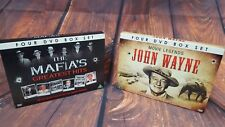 John Wayne & The Mafias Greatest Hits DVD Box Sets 8 DVDs In Total Bundle