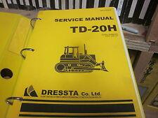 Dresser Dressta TD-20H Dozer Repair Service Manual