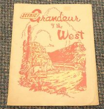 1943 Southern Pacific Railroad - 16 prints of views Scenic Grandeur of the West