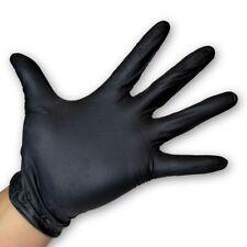 NITRIL Handschuhe puderfrei, schwarz, Größe L, 200 Stück Packung