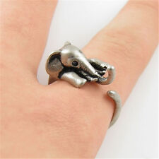 Elephant Rings - Silver - Adjustable (R19)