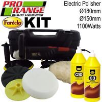 Pro Range/Farecla Car Body Care Kit Digital Polisher Liquid Scratch Removal Kit