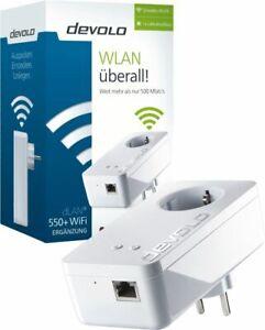 devolo dLAN 550+ WiFi WLAN Reichweite vergrößern, Einzeladapter