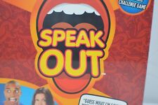 SPEAK OUT Funny Mouthpiece Game By Hasbro Brand New