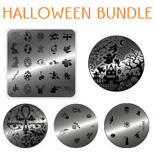 MoYou Nails Special Halloween 5 Stamping Art image plates bundle, Template