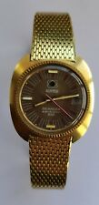 Roamer Watch Vintage Searock Electronic 612 with date function. Original band.