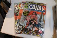 Marvel Comics Conan the Barbarian Comic Lot! #100,173,179! FN-VF