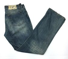 Just Cavalli Roberto Straight Cut Mens Blue Jeans Tag Sz: 36 Actual 33x34