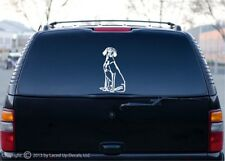 Weimaraner Dog vinyl decal gun dog Best in show puppy lg