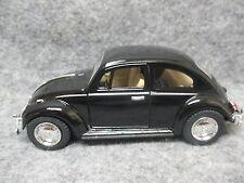 Kinsmart 1:32 Scale Diecast 1967 Volkswagen Classic Beetle Friction Car BLACK