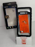 Fansteck Samsung Galaxy S10+ Waterproof Case, IP68 Full-Body Black Clear
