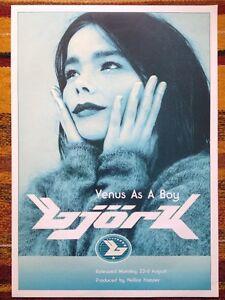 Bjork - Venus As A Boy Original Promo Poster