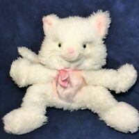 Vintage Persian Kitty Cat RARE Well Made Toy Soft Plush Furry Stuffed Animal 10""
