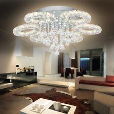 LED Deckenlampe 88W Kristall Kronleuchter Hängeleuchte Lüster Pendelleuchte Warm