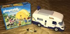 Playmobil 4859 Summer Fun Family Holiday Geobra Camper & SUMMER FUN KIT 5435 NEW
