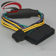 New ATX 24pin to 8pin Power Supply Cable 18AWG for DELL Optiplex 3020 7020 9020