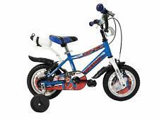 """Ibk - Vélo 12 """" Crazy Enfant Bébé Blanc/Bleu avec Accessoires Petite"""