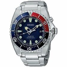 Seiko Men's SKA369 Blue Stainless-Steel Automatic Diving Watch