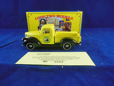 Code 2 Matchbox Collectibles YTC01-M 1941 Chevrolet Pickup Green Meadows Yellow