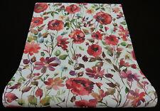 "6330-06) tessuto non tessuto moderno carta da parati ""My Garden"" colori vivaci fiori prato"