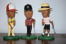 Complete Set! Tiger Woods Bobble Heads byNike/Upper Deck