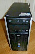 HP 6000 Pro Microtower PC Core 2 Duo 3.16Ghz 4GB 300GB DVD RW Windows 10 Tower .