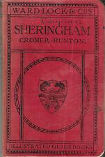 WARD LOCK RED GUIDE - SHERINGHAM (NORFOLK) - 1931/32 - 10th edit. - maps & plans