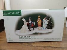 Department 56 The Life Of The Party Accessory Figures Christmas In The City