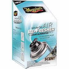 Meguiar's Whole Car AIR RE-FRESHER NEW CAR SCENT - Odor Eliminator Mist