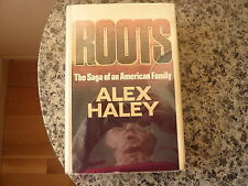 Roots by Alex Haley. Signed  and inscribed first printing in dust jacket. 1976