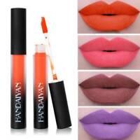 HANDAIYAN Matte Velvety Liquid Lipstick Long Lasting Lip Gloss Makeup Cosmetic~
