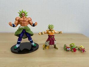 Dragon Ball Figure  Broly 5 Body Set BWFC HG Japan Rare Figurine Manga Anime