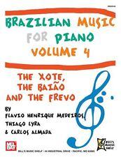 La musique brésilienne pour piano, volume 4