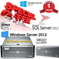 Dell PowerEdge R900 4xIntel Xeon E7450 SixCore 2.40GHz 128GB RAM 24 CORES  800GB