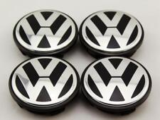 4 Alloy Wheel Centre Caps Volkswagen 55mm 1J0601171